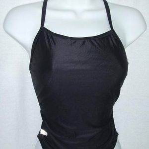 Speedo Black Spandex 1 Pc. Swimsuit XXS 30